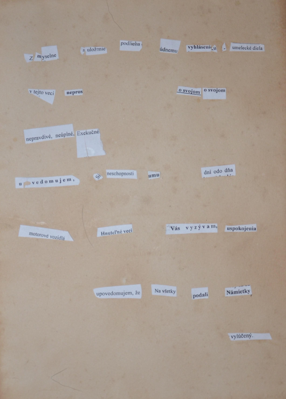 Exekútorská poézia