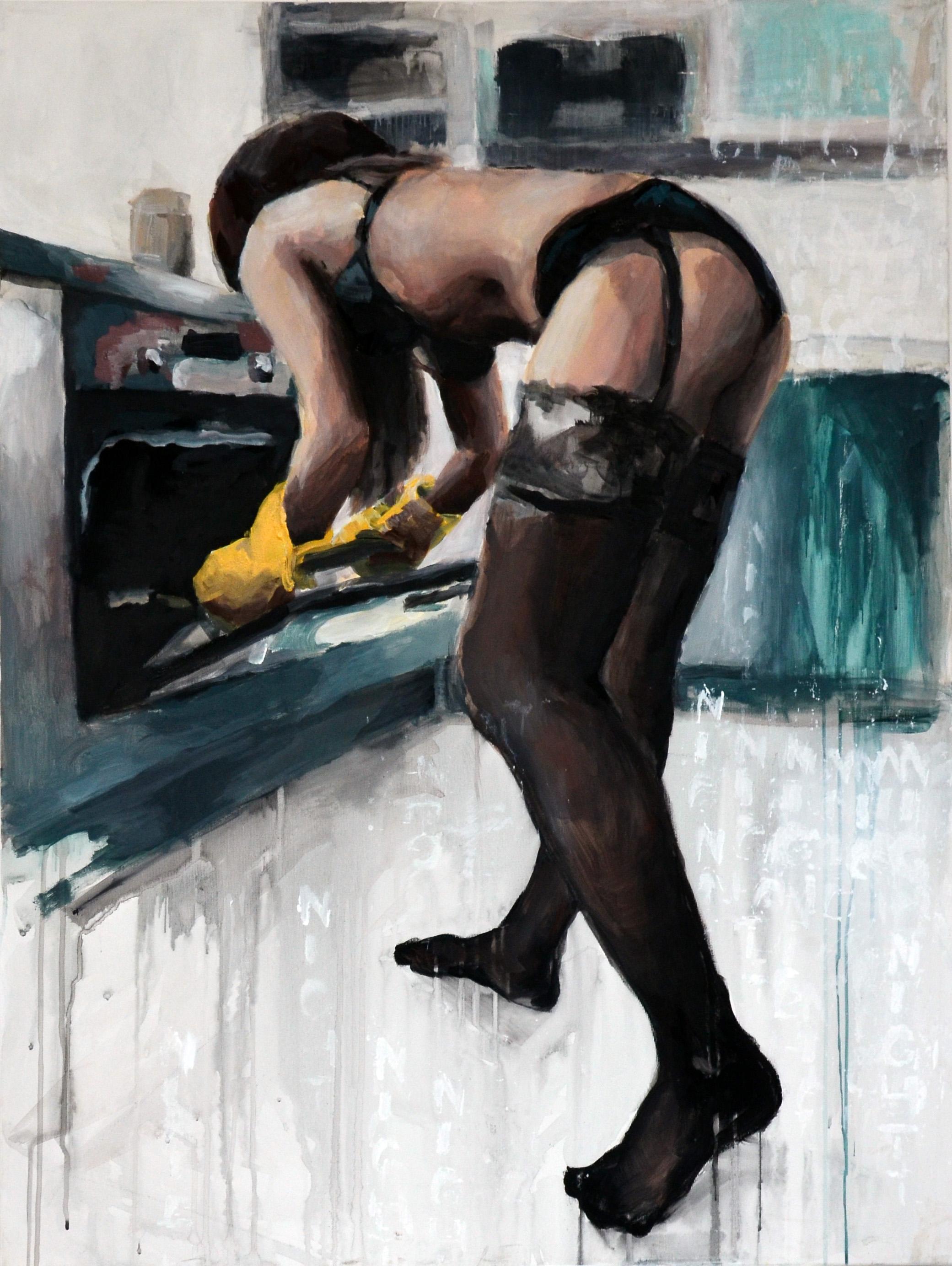 75x100, akryl na plátne, 2014